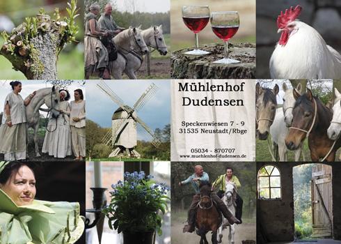 Mühlenhoffest in Dudensen am 27.04./28.04.13