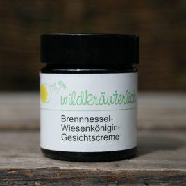 Gesichtscreme für unreine Haut <br> Brennnessel-Wiesenkönigin-Creme <br><br>hautklärend & entzündungshemmend