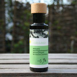 – Sonnenkönigin Kleopatra – <br> Feuchtigkeits-<br>spendendes <br>Sonnenpflegeöl<br>für Gesicht und Körper<br><br>