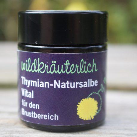 Natursalbe Vital Brustbereich Naturkosmetik München Wildkräuterlich