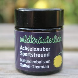 Deobalsam Salbei Thymian Naturkosmetik München Wildkräuterlich