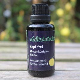 Kopf frei Wiesenkönigin Hautöl Naturkosmetik München Wildkräuterlich