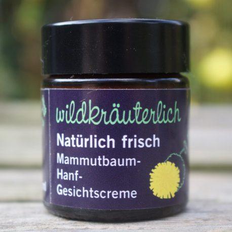 Gesichtscreme für Männerhaut Naturkosmetik München Wildkräuterlich