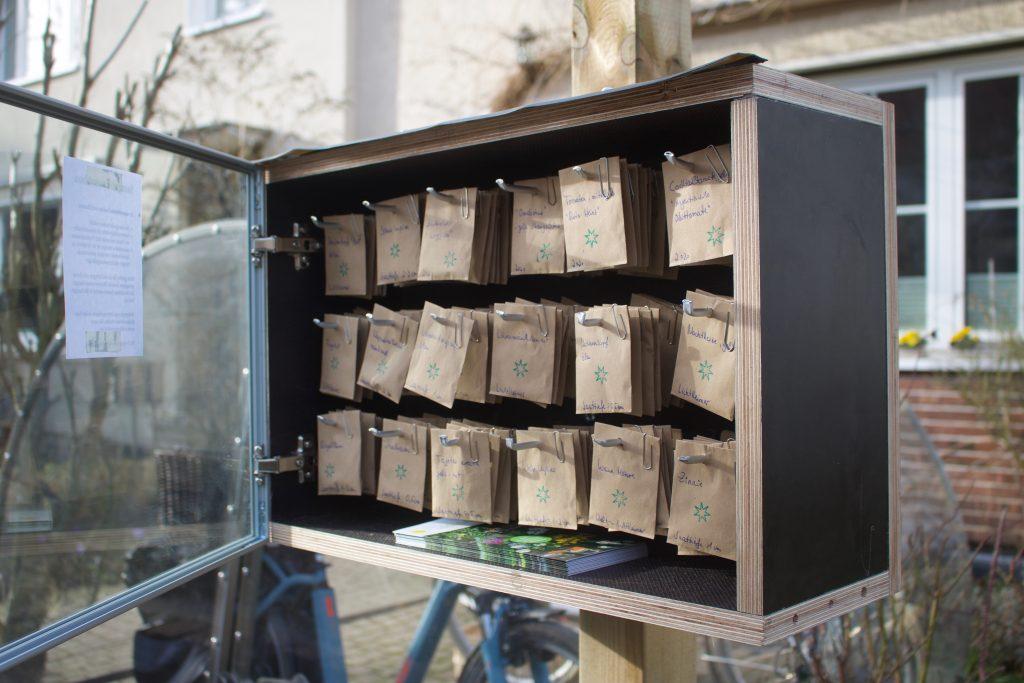 Saatgut-Tauschbox